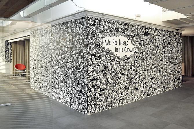 I See People In The Crowd Guilherme Kramer Artwork
